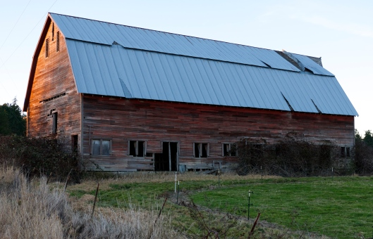 More time to see the barns!